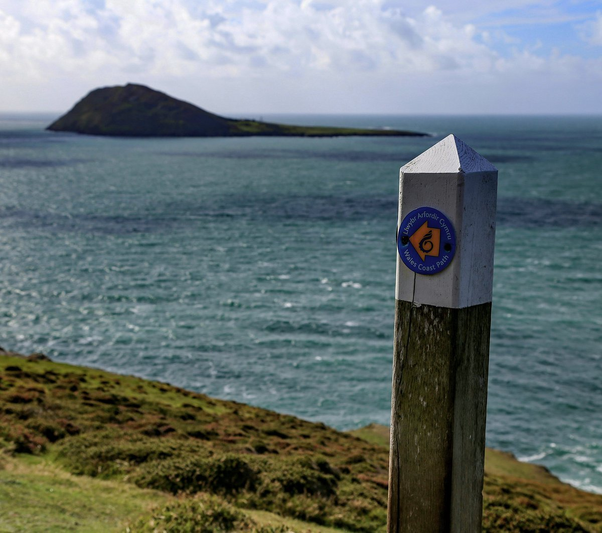 Wales Coast Path walking guidebooks